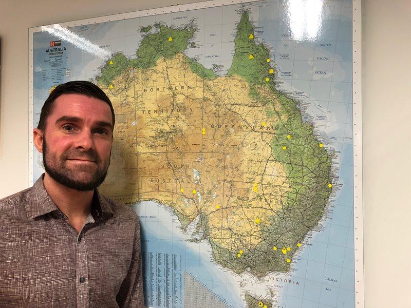 Map Of Young Australia.The Map Man Bush Heritage Australia