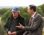 Nic Dunlop &amp; Chris Darwin discussing the Observatory Program in 2009<br/>