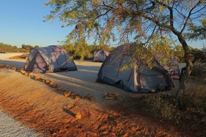 Campsites at Hamelin.<br/>