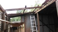 The old Hamelin Shearing Shed in need of repair!<br/>