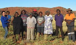 Birriliburu Traditional Owners group shot