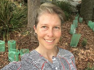 Dr Rebecca Spindler, new Executive Manager of Science and Conservation.