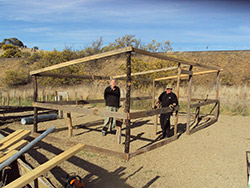 Scottsdale volunteers building a new plant nursery