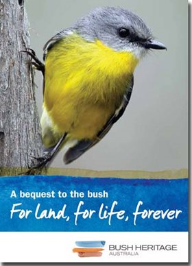 Bequests for the bush booklet