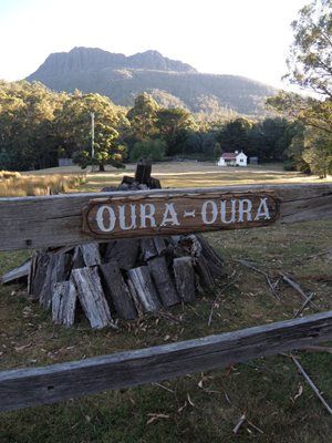 Bob's house on what is now our Oura Oura Reserve. Photo Al Dermer.