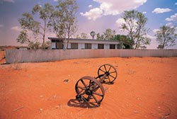 Ethabuka 'homestead'. Photo Wayne Lawler/EcoPix.
