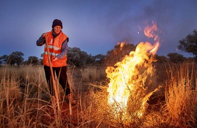 Cravens Peak Reserve Manager Jane Blackwood. Photo by Lachie Millard/The Courier Mail.