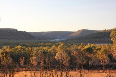 View of the rugged landscape at Carnarvon. Photo Emma Burgess.