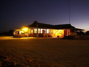 Hamelin Station Stay at twilight. Photo Cineport Media.