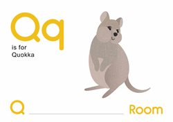 Q is for Quokka.