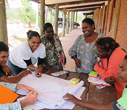 Umpila traditional owners doing Healthy Country Training