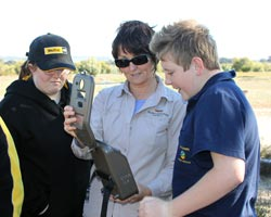 Jerramungup students at Yarrabee Wesfarmers Reserve