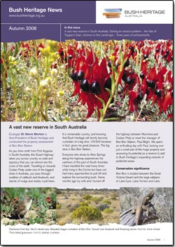 Autumn 2008 newsletter