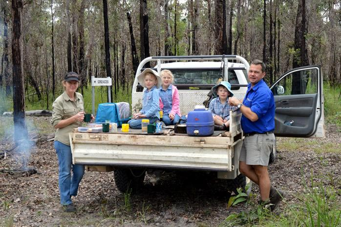 yourka family camping trip bush heritage australia