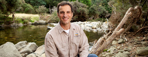 Photo of Reserve Manager Matt Appleby